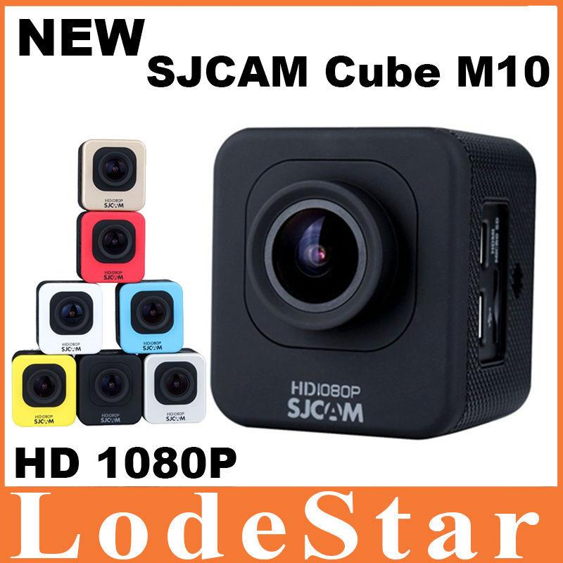 Оригинал SJCAM M10 Спорт Действий Камеры 1080 P Видеокамера Шлем 30 М дайвинг Водонепроницаемая Камера 1.5