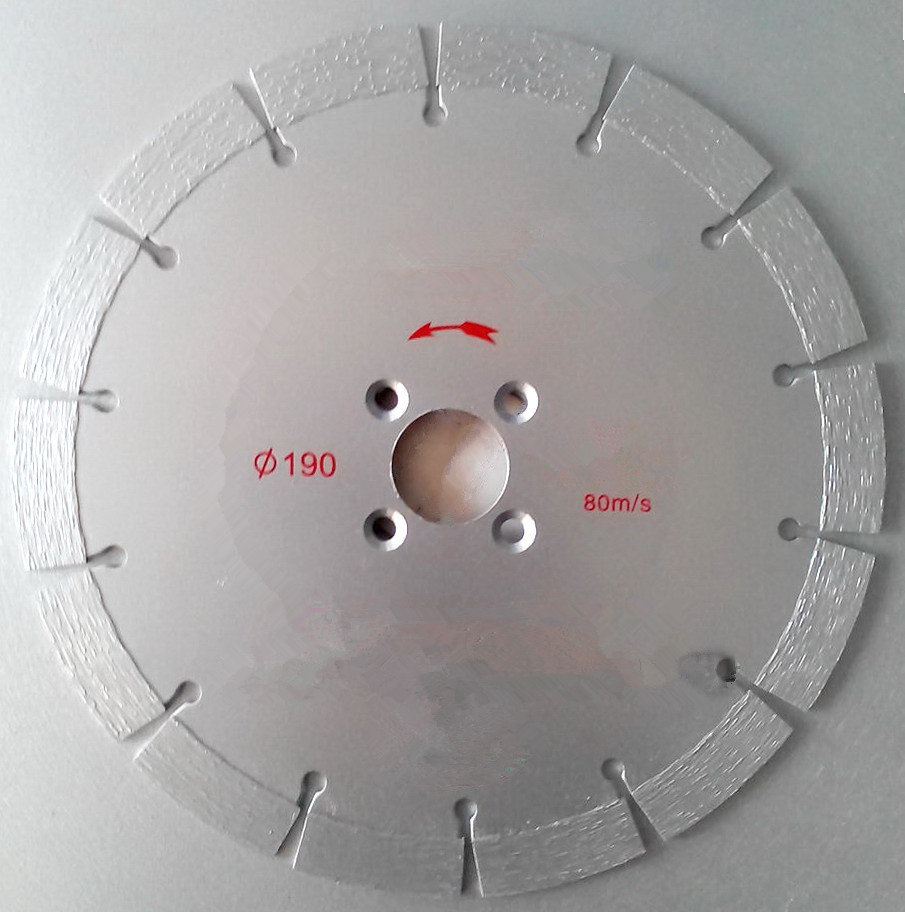 190mm Sintered Diamond Segmented Saw Blade for Cutting Concrete Wall<br><br>Aliexpress