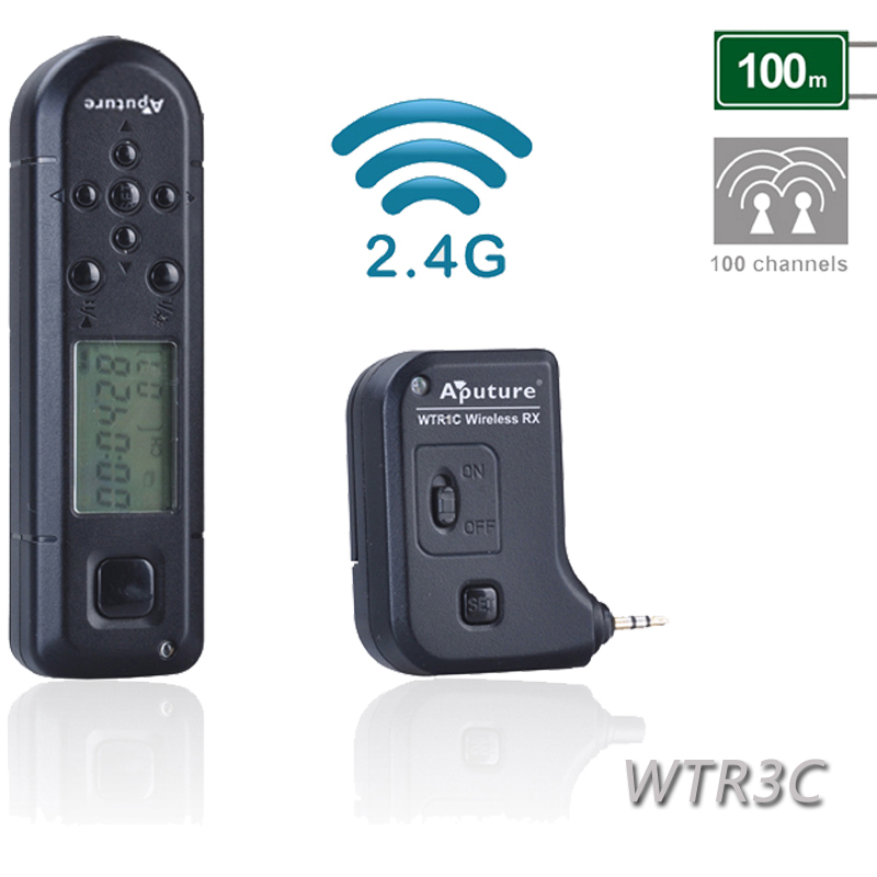 Hot!! Aputure WTR3C Pro Coworker II Wireless Timer Remote Control for Canon 1D Nark IV 1D(s)Mark III 1D Mark III 5D Mark III II(China (Mainland))