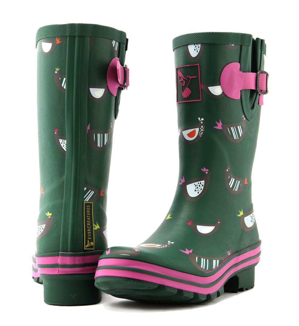 Wellies Rain Boots Women - Boot Hto