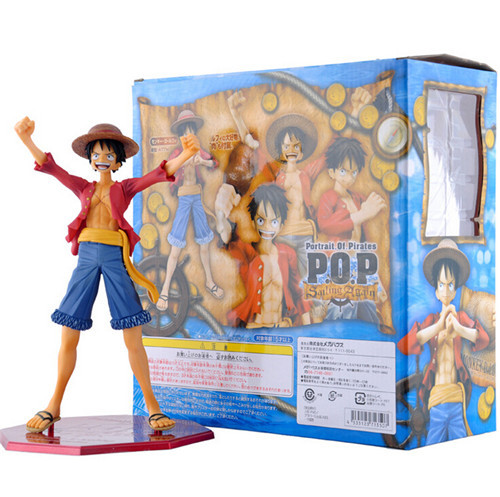 MegaHouse Variable Action Heroes One Piece Monkey D Luffy PVC Action Figure One Piece Anime Collectible Model Toy T50(China (Mainland))