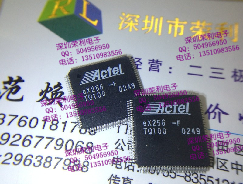 Free shipping 10pcs/lot EX256-FTQ100 EX256-F ACTEL programmable gate array chip new original(China (Mainland))