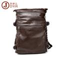JOYIR 2017 New Arrival Genuine Leather Men Backpack Man Cowhide Leather Causal Backpack Vintage Travel Bags