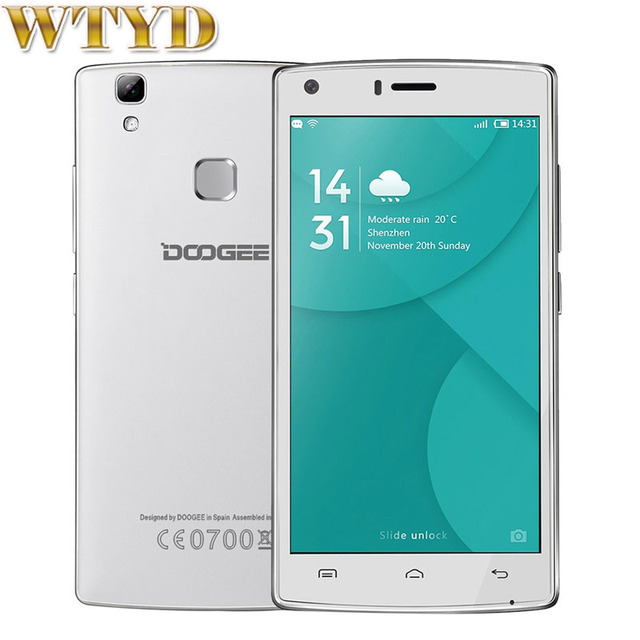На складе 4000 мАч DOOGEE X5 MAX Pro 16 ГБ + 2 ГБ LTE 4 Г 5.0 ''Android 6.0 MTK6737 Quad Core 1.3 ГГц DOOGEE X5 MAX 1 ГБ + 8 ГБ WCDMA 3 Г