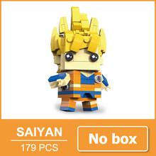 Dragon Ball Z Goku Vegeta Super Saiyan Ação Bulma Figura Estatueta Toy Blocos Tijolos Dragonball Z DBZ(China)