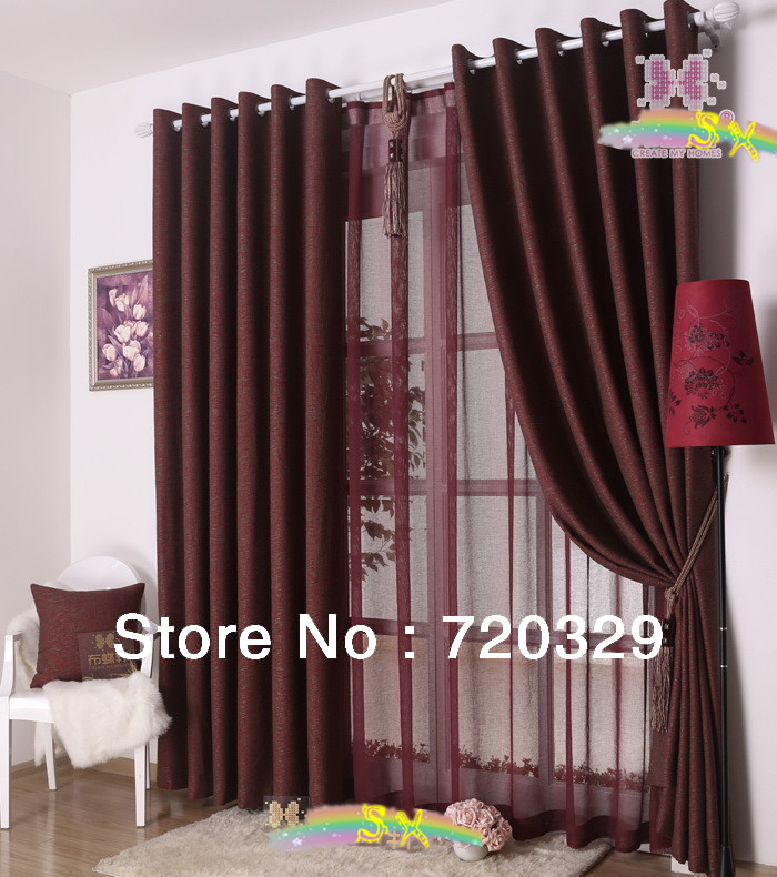 80 cotton20 polyester high end half sun block eco friendly for High end curtains and window treatments
