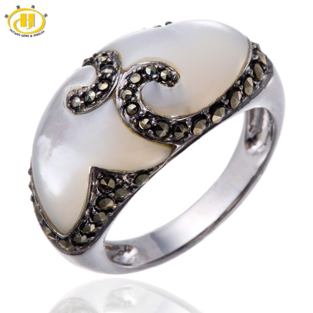 Aliexpress.com : Buy Hutang Mother of Pearl & Marcasite ...