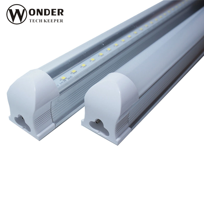 T8 integrated tube no need support led lamp 1200mm 4 inches 18W led tube replace for 60W traditional lamps AC176-265V(China (Mainland))