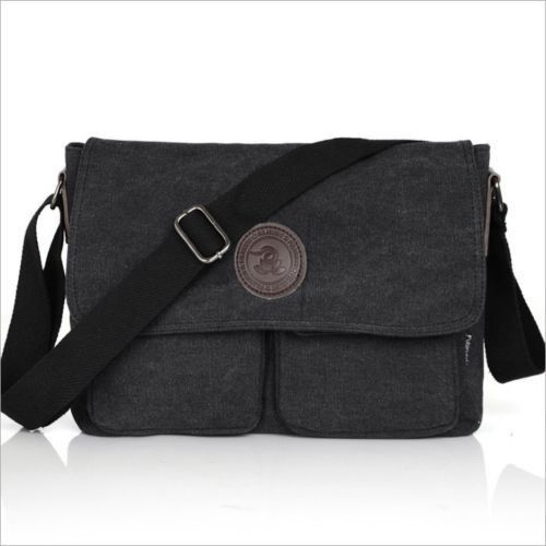 Details Vintage Men's Canvas Shoulder Bag Casual School Military Messenger Travel - Online Store 938194 store