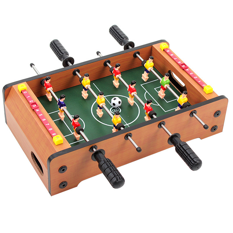 Mini Wooden Table Football Top Board Game Home Soccer Games Set Football Toy Gift For Boys TD0076(China (Mainland))