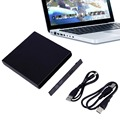 High Quality Portable USB 2 0 DVD CD DVD Rom SATA External Case Slim for Laptop