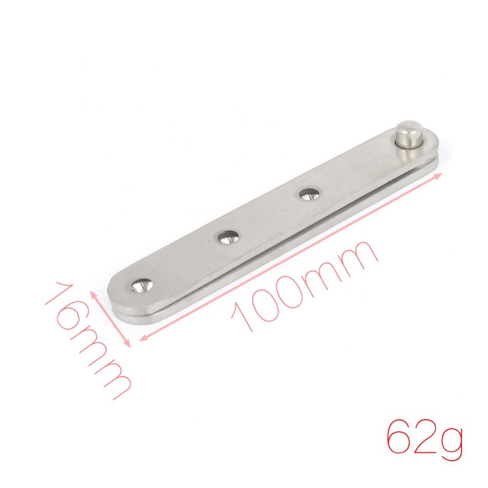 100mmx16mm Door Cabinet Window Fitting Part Stainless Steel Pivot Hinge(China (Mainland))