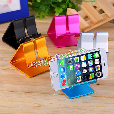 Universal Cell Phone Desk Stand Holder For Tablet Mini Samsung iPhone 6 6S plus Freeshipping&Wholesale(China (Mainland))