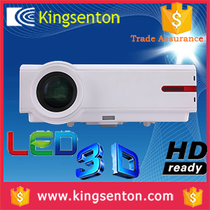 Newest!!! 1280x800 resolution Home Theater 200inch Full HD 1080P 3D LED LCD Projector Beamer(China (Mainland))