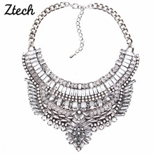 Buy Fashion Necklaces & Pendants Bohemian Statement Necklaces costume choker pendant Collar Necklace Maxi Jewelry Women for $6.49 in AliExpress store