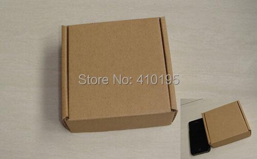5 10*10*3.5cm corrugated board mini gift packaging box,gift box - Ningbo Huahui Co.,ltd store