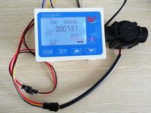 """Efecto Hall G 1 """" flujo de agua contador / Sensor con medidor LCD Digital Gauge 10 – 24 V"""