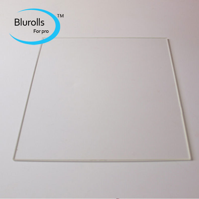 borosilicate glass plate for reprap 3d printer mk heating bed rectangular 200*214*3mm borosilicate glass free shipping<br><br>Aliexpress