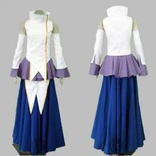 Mobile Suit Gundam SEED Lacus Clyne/Lux Risbon Cosplay Costume Fashion Diva Full Set
