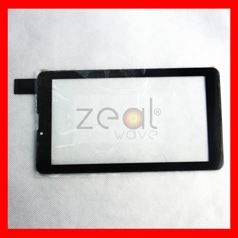 Free Tracking NO 7 inch TEXET NaviPad TM-7049 3G TM7049 Tablet Touch Screen Digitizer Glass Sensor Replacement HS1275 V106pg(China (Mainland))