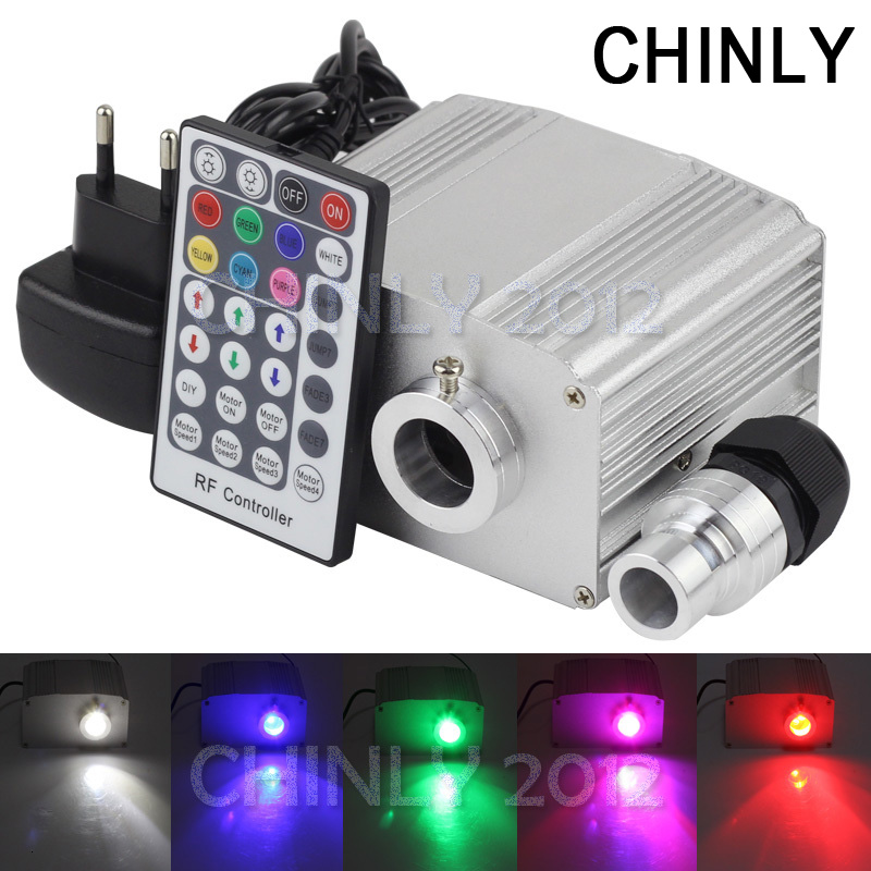CREE chip 10W RGBW LED twinkle Fiber Optic Engine Driver 28key RF Remote controller kinds fiber optics - CHINLY ELECTRONIC TECHNOLOGY CO.,LTD store