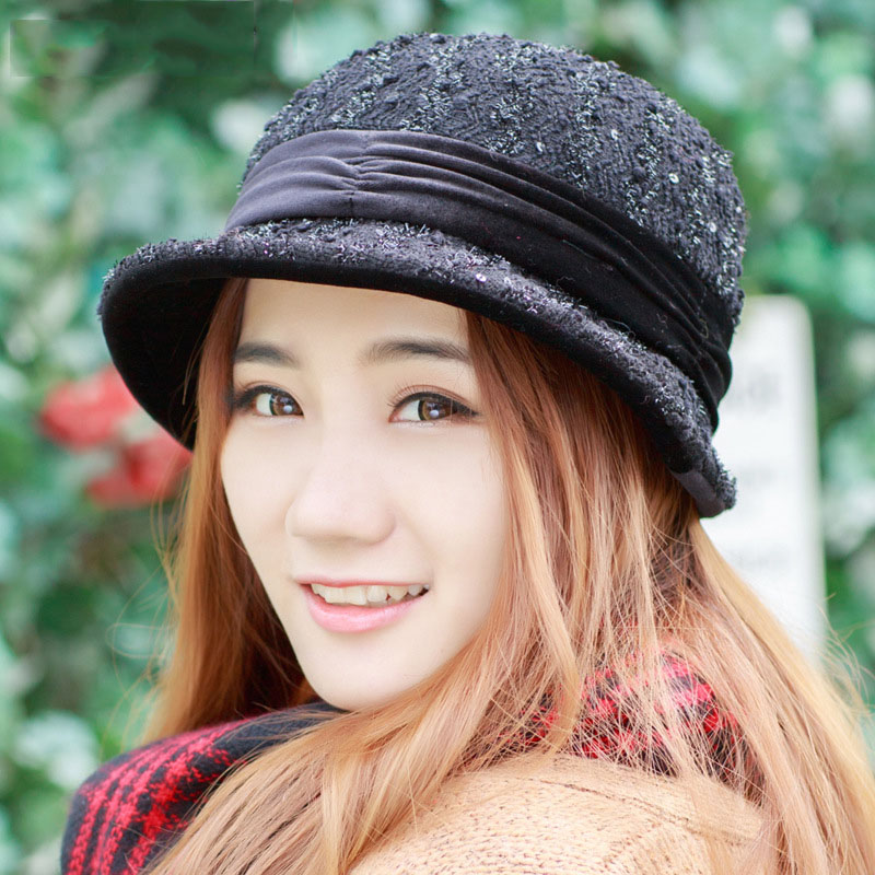 2016 Spring autumn hats women fashion Foldable lady Fedoras hat Autumn caps girl female Floppy gorro feminino - SAMWEL store