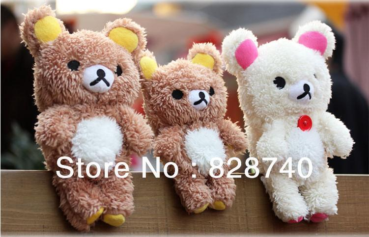 lovely Cute Stitch / Teddy Bear Doll Toy Plush Case Cover Samsung Galaxy S3 Mini I8190 Mobile Smart Phones - Bobo shops store