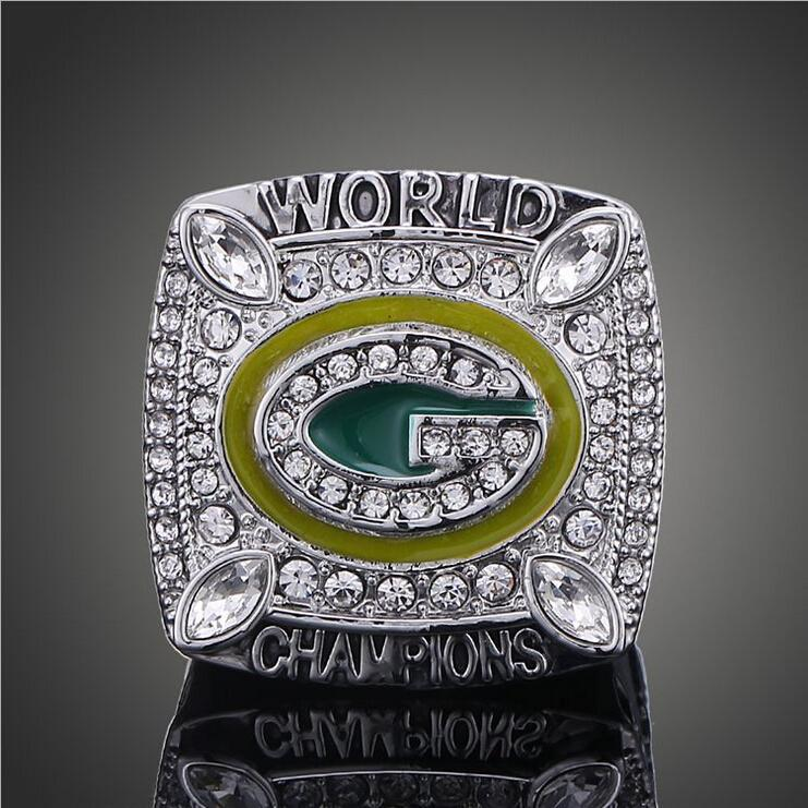 NFL 2011 Green Bay Packers Super Bowl Championship Rings American Football Aaron Rodgers World Champion Rings Classic Collection(China (Mainland))