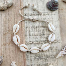17KM Cowrie Shell Jewelry Bracelets For Women Buy 1 get 1 Gift Adjustable Couple Bracelet & Bangles (BR+EA) 2019 Drop shipping(China)