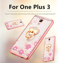 One Plus 3/OnePlus Three Case Luxury Plating Gilded TPU silicone soft Back Cover Plus3 Accessory Fundas 5.5inch - xinchentech stevenxie Store store