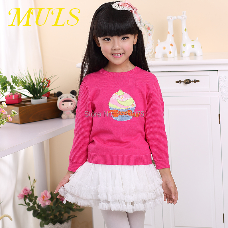 Children's Clothing pullover 2015 free shipping and autumn/winter wear girls and girls sweater children clothing baby sweaters(China (Mainland))