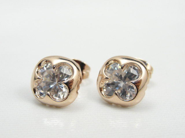 Fashion jewelry gold elegant intellectuality small cardamom exquisite stud earring earrings accessories(China (Mainland))
