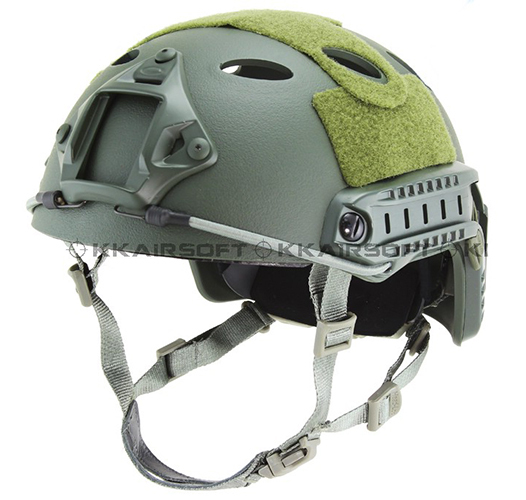 Base Jump Paintball Airsoft Fast Helmet Carbon Style (OD Green) Tactical Masks helmet - EMERSON--WARGAME equipment shop store