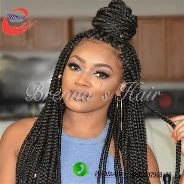 Crochet Braids You Can Swim In : 18 inch 24 inch good quality box braids hair synthetic crochet braids ...