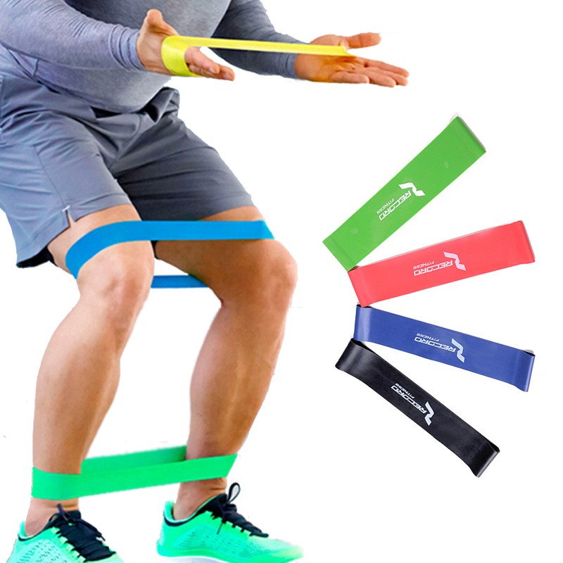 Exercise Rubber Bands Green: Aliexpress.com : Buy 4 Levels Resistance Bands,Yoga Gym