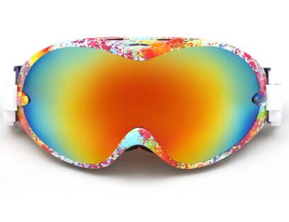 POLISI Men Women Winter Skiing Goggles UV400 Double Layer Anti-Fog Lens Ski Snow Glasses Outdoor Sport Snowboarding Eyewear