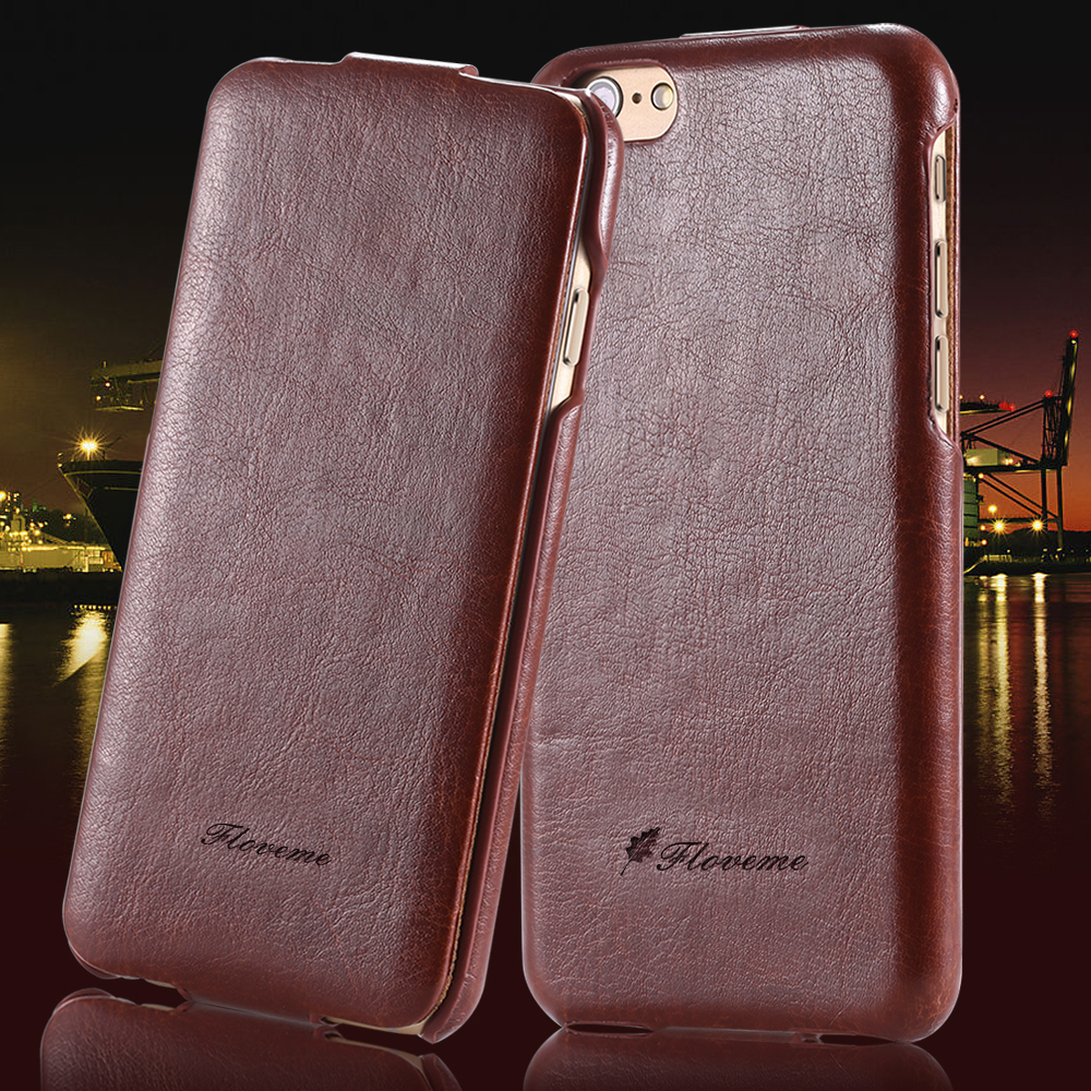 High Quality Luxury Vertical Flip PU Leather Case For Apple iPhone 6 4.7 inch Original Fashion Brand Cell Phone Bag For iPhone 6(China (Mainland))