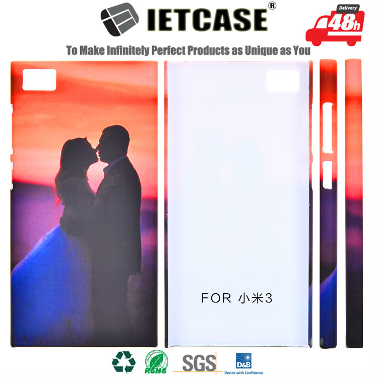 Wholesale Mobile Accessory Custom 3D Printing Fancy Design Cell Phone Shell Plastic Hard Cover for Xiaomi 3 redmi 3s Case(China (Mainland))