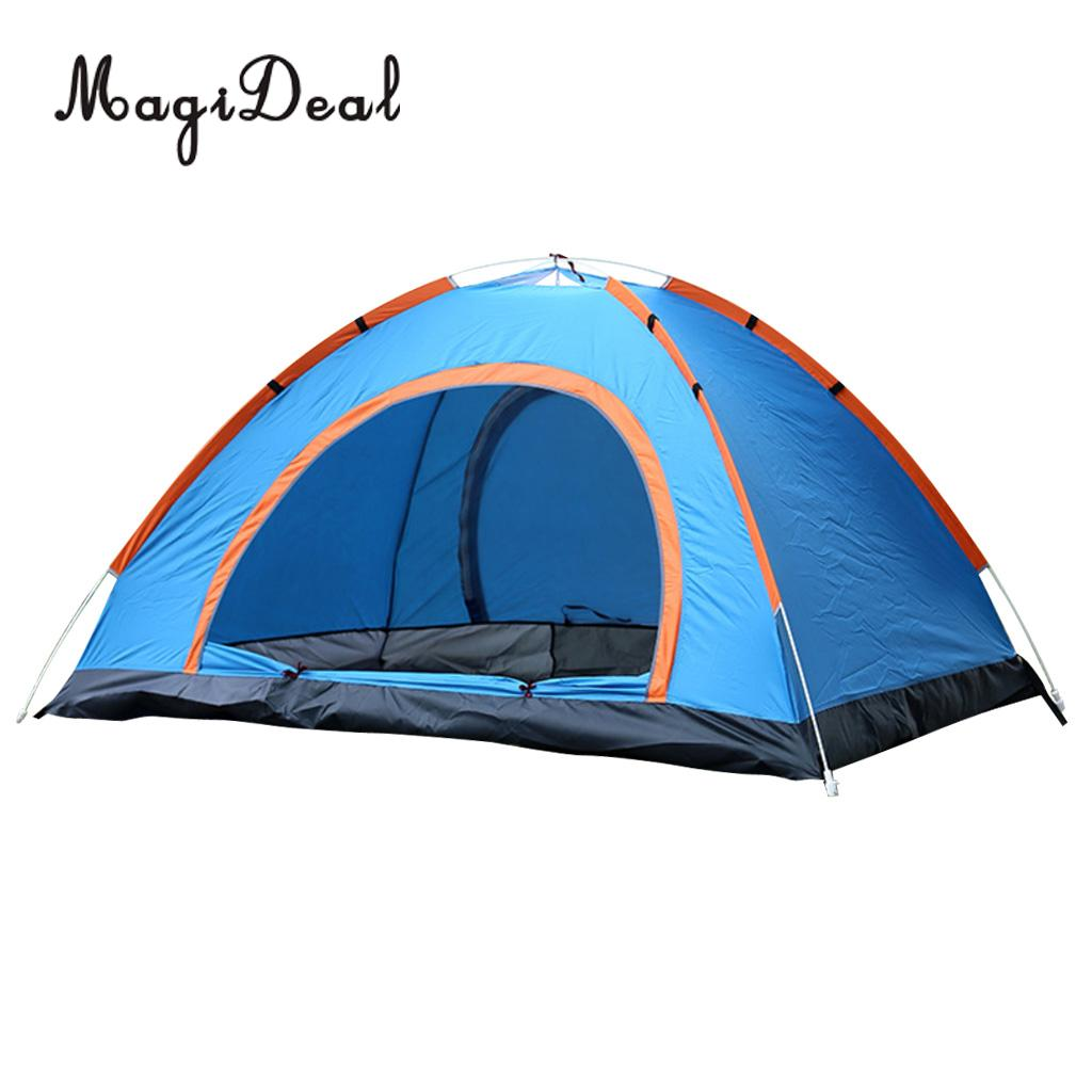 MagiDeal High Quality Camping Portable Automatic Tent Pop Up Instant Folding Beach Sun Shelter
