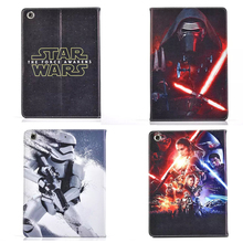 Star Wars Stormtrooper Jedi Knight Black Darth Vader PU Leather Case Cover For iPad Mini 1/2/3 iPad 2/3/4 Tablet protective+Gift(China (Mainland))