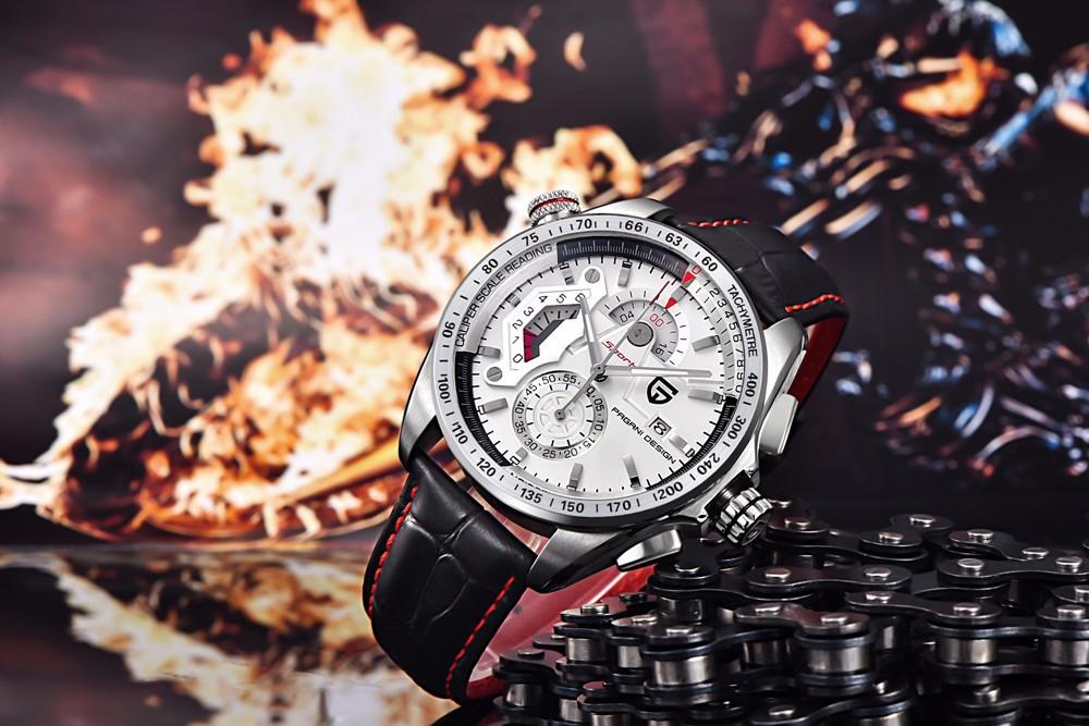 Марка Часы Мужчины Хронограф Часы Мужчины Роскошные Водонепроницаемый Спорт Кварцевые Часы Военные Наручные Часы Мужчины Часы horloge