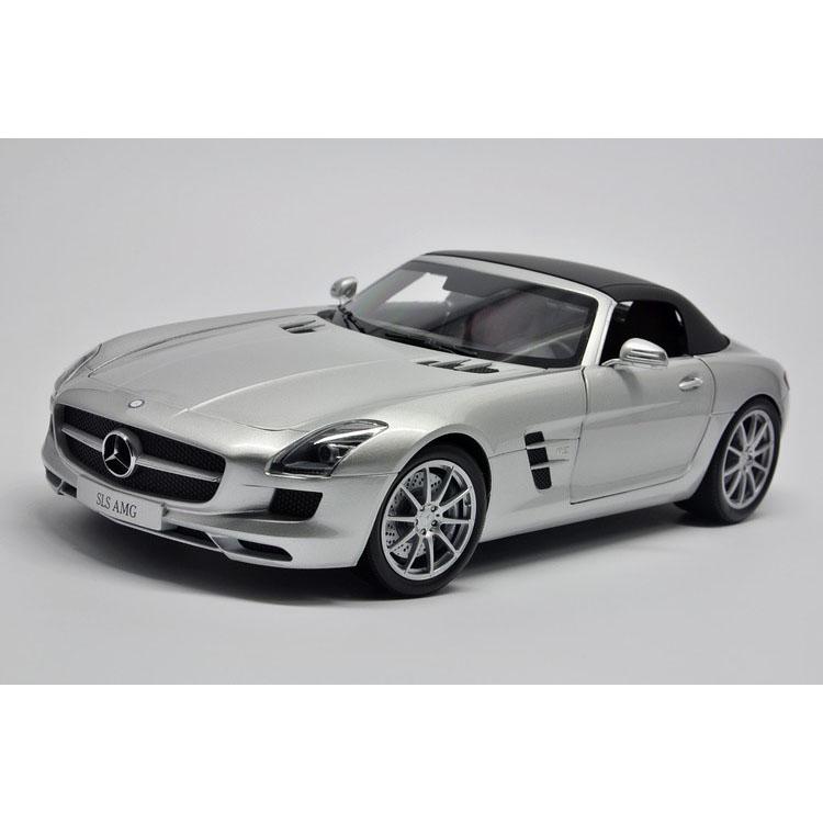 1:18, the German Mercedes Benz factory OEM Mini cut SLS AMG convertible Mercedes Benz Benz R197 2011<br><br>Aliexpress