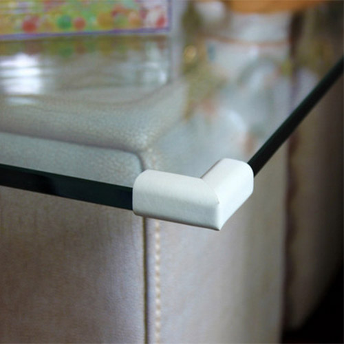High quality glass table corner guards baby safety corner protector 4 pcs a lot power workshop seguridad(China (Mainland))