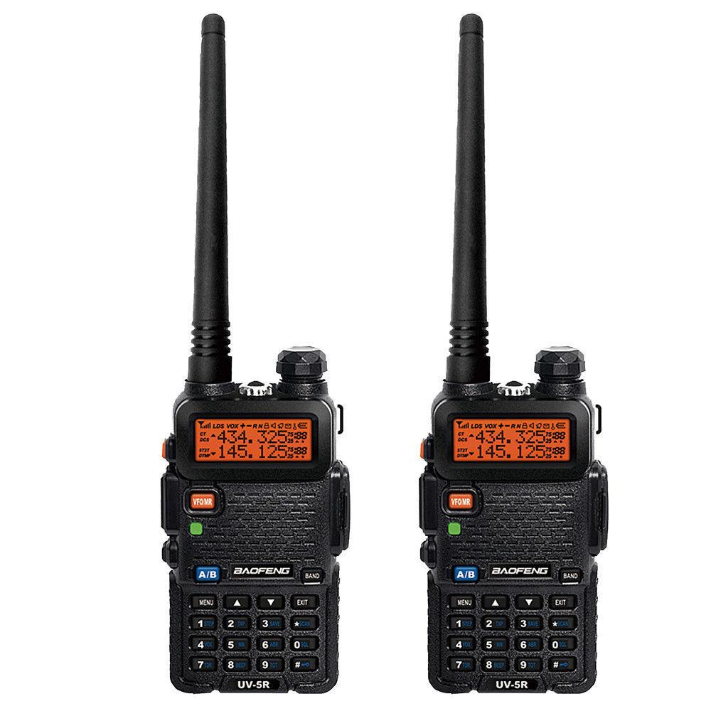 2-x-BAOFENG-UV-5R-Dual-Band-VHF-UHF-Two-