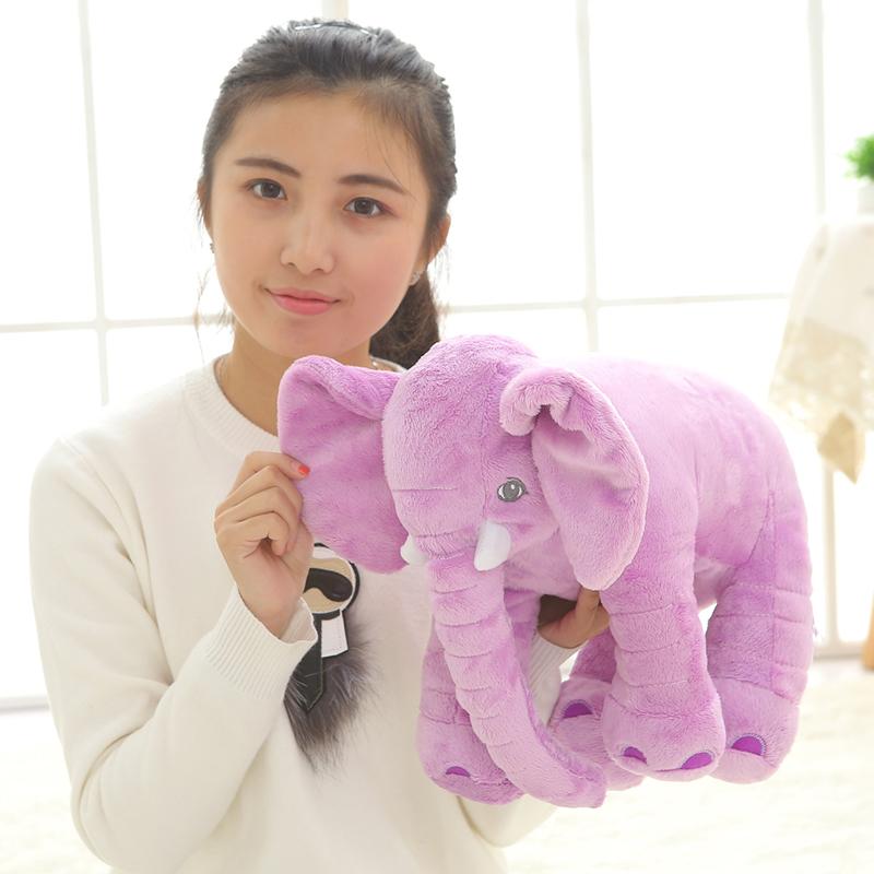 40cm Elephant Stuffed Animal Toys Plush Pillow Dolls Baby Gifts for Birthday & Christmas(China (Mainland))