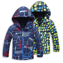 New 2016 Spring Autumn Children Outerwear Jackets Sport Fashion Kids Coats Double-deck Waterproof Windproof Boys Brand Jackets(China (Mainland))