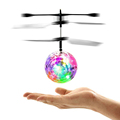 Recommend Induction Fly Flash Ball Toys Remote Control RC Helicopter Flying Quadcopter Drone Fairy Doll Best