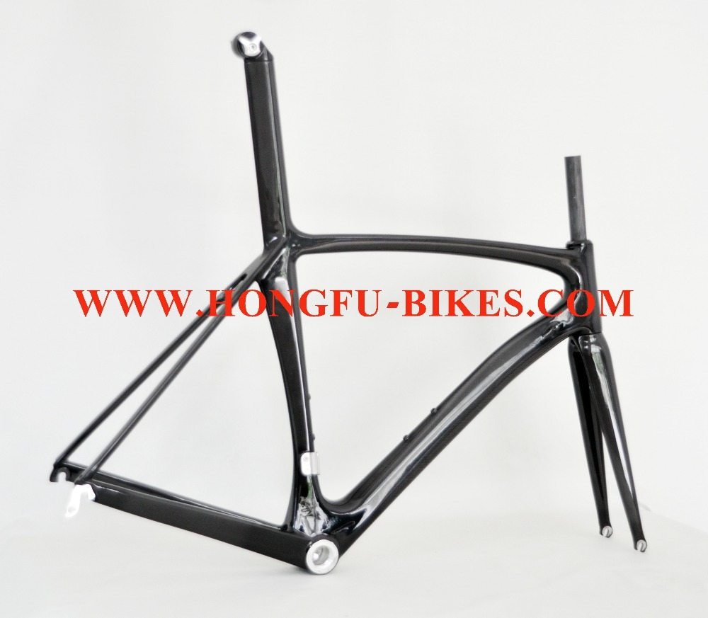 new year discount ! carbon bike frameset FM039,integrated with seatpost, finish UD , carbon bicycle frame(China (Mainland))