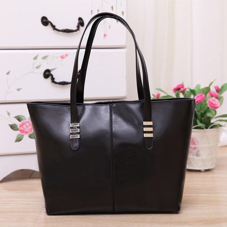 2014 New promotion women's genuine leather+PU Leather handbag bags fashion women's cowhide shoulder bag large bag Wholesale(China (Mainland))