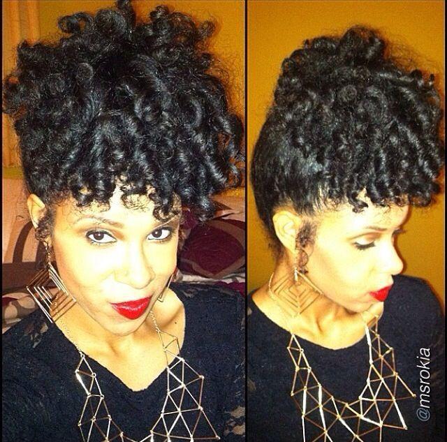 Human Hair Afro Puff Drawstring 110